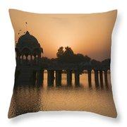Skn 1368 Sunrise Flight Throw Pillow