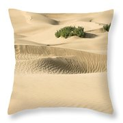 Skn 1408 The Smooth Dunes Throw Pillow
