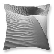 Skn 1415 The Flow Of Ripples Throw Pillow