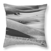 Skn 1432 Slopes And Curves Throw Pillow