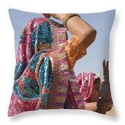 Skn 1544 Dressed To Dance Throw Pillow