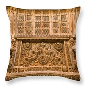 Skn 1657 Wall Architecture Throw Pillow