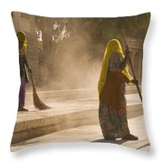 Skn 1690 Twin Sweepers Throw Pillow