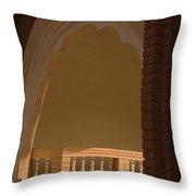 Skn 1816 The Inner Veranda Throw Pillow