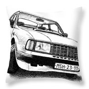 Skoda 120l Throw Pillow