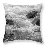 Skc 0212 Facing The Tide Throw Pillow