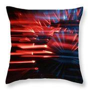Skc 0272 Crystal Glass In Motion Throw Pillow