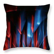 Skc 0276 Red And Blue Throw Pillow