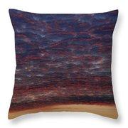 Skc 0338 Sky Desert Throw Pillow