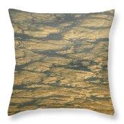 Skc 0341 Cloud Quilt  Throw Pillow