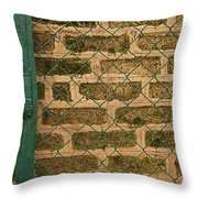 Skc 0404 Gate To The Wall Throw Pillow