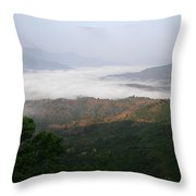 Skc 0757 Winter Valley Throw Pillow