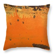 Skc 1505 Peeled Paint Throw Pillow