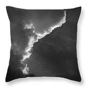 Skc 0333 Silver Line Throw Pillow