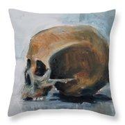 Skull Torso Throw Pillow