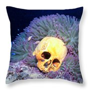 Skulls 2 Throw Pillow