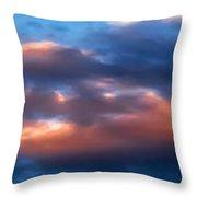 Sky 004 Throw Pillow