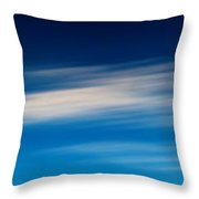 Sky 008 Throw Pillow