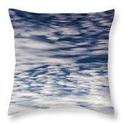 Sky 009 Throw Pillow