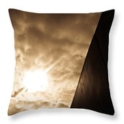 Sky Above The Wall Throw Pillow