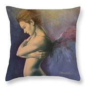 Sky Below Ground Throw Pillow