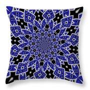 Sky Blue 1 Throw Pillow