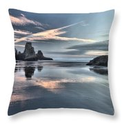 Sky Crosses Throw Pillow