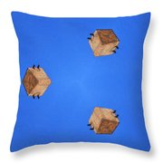 Sky Fortress Progression 1 Throw Pillow