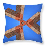 Sky Fortress Progression 5 Throw Pillow