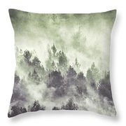 Sky Joins The Earth Throw Pillow