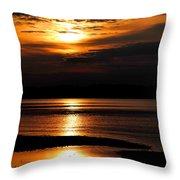 Sky Light Throw Pillow