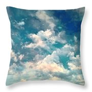 Sky Moods - Refreshing Throw Pillow