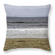 Sky Sea Surf And Sands Throw Pillow