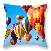 Sky Of Color Throw Pillow by Shane Kelly