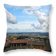 Sky Over Tuscany Throw Pillow