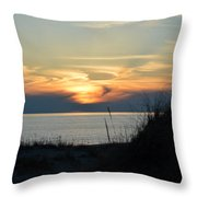 Sky Painting Throw Pillow