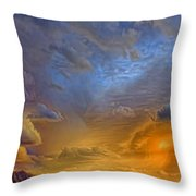 Sky Painting Photo 3621 Throw Pillow