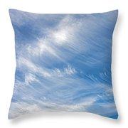 Sky Paintings IIi Throw Pillow