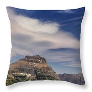 Sky Sweep Throw Pillow