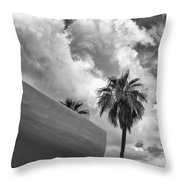 Sky-ward Palm Springs Throw Pillow by William Dey