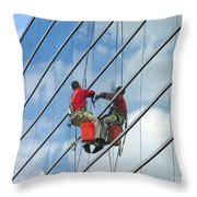 Sky Washer Throw Pillow