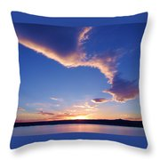 Sky Wonders Throw Pillow