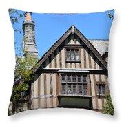 Skyland Manor House Throw Pillow