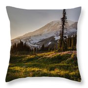 Skyline Meadows Sunstar Throw Pillow