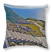 Skyline Trail In Cape Breton Highlands Np-ns Throw Pillow