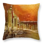 Skyline View  Throw Pillow