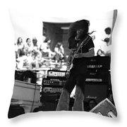 Skynyrd #18 Crop 1 Throw Pillow