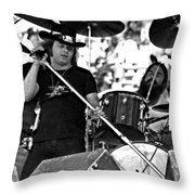Skynyrd #19 Crop 2 Throw Pillow
