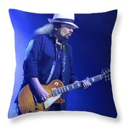 Skynyrd-gary-7399 Throw Pillow