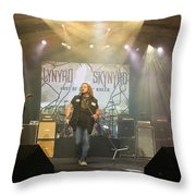 Skynyrd-group-7063 Throw Pillow